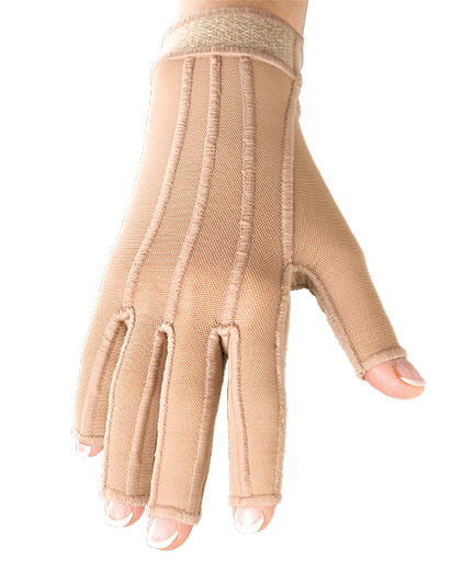 compression therapy hand glove