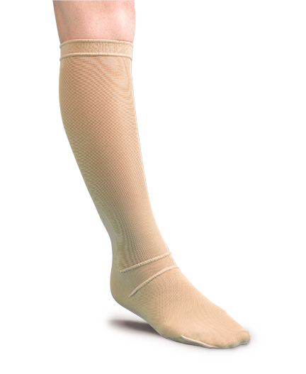 compression therapy knee length stocking