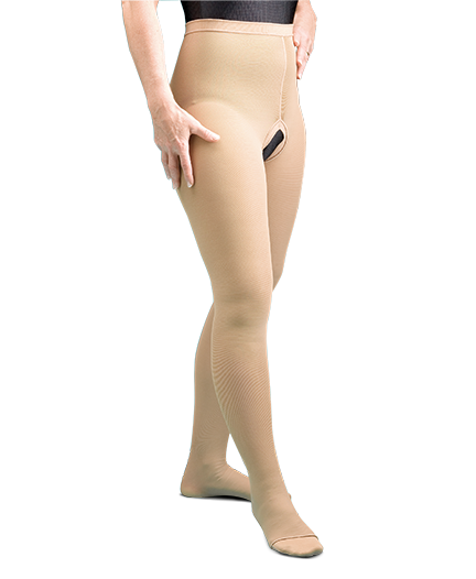 Compression Therapy Waist Length Stockings